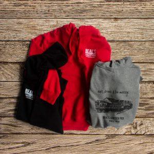 Beals lobster hooded sweatshirt