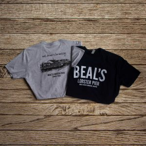 beals logo style t shirt athletic fit