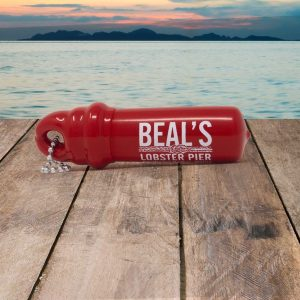 beals lobster buoy keychain