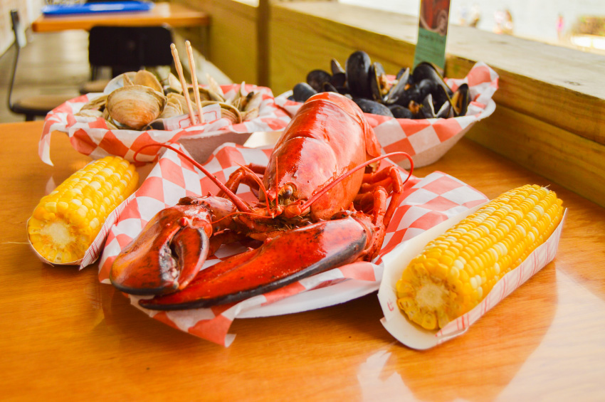 Our Story - Beal's lobster with corn on the cob